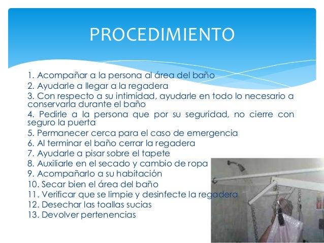 Baño Regadera Enfermeria:Habituales para mantener_la_salud-2