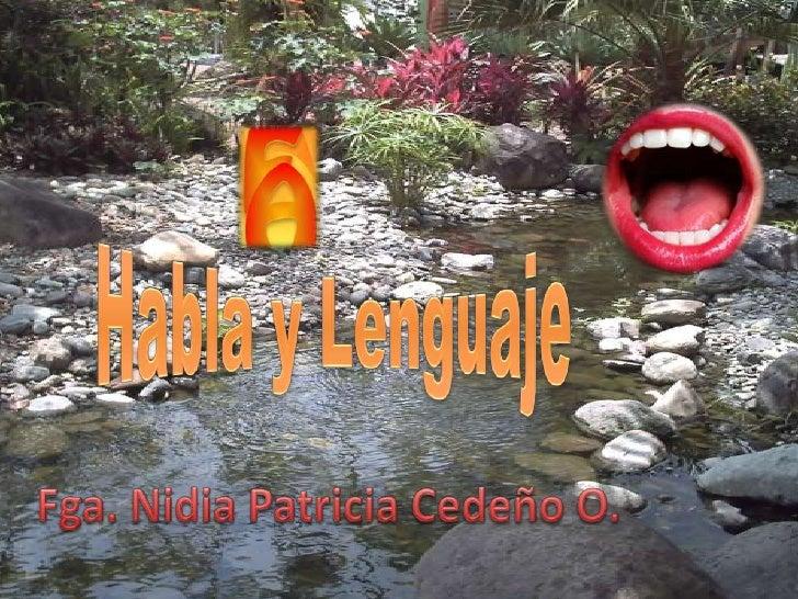 Habla y Lenguaje