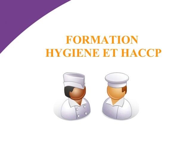 FORMATION  HYGIENE ET HACCP