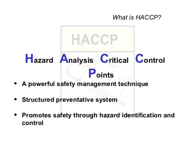 Haccp Training