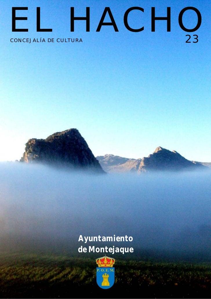 Revista El Hacho Nº23