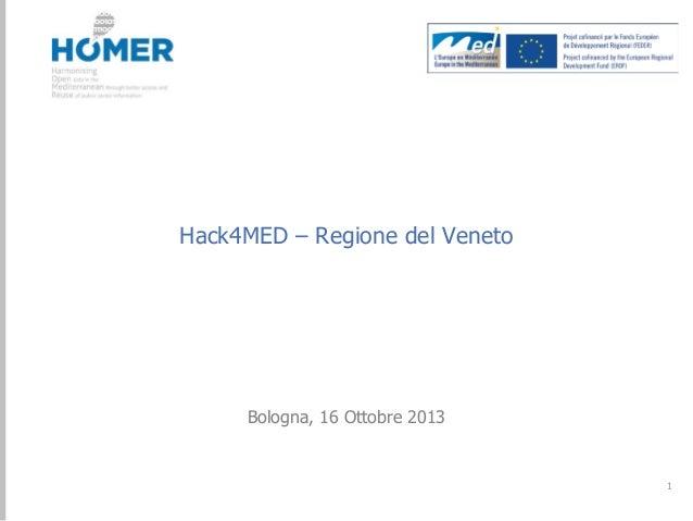 Hack4Med! Regione Veneto