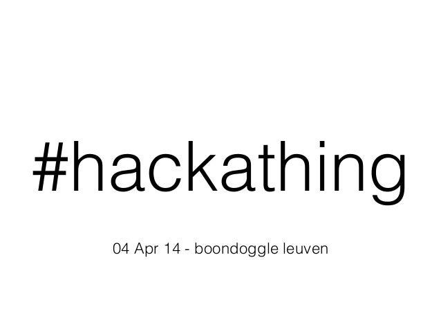 Boondoggle Bright - Hackathing - StartupBus