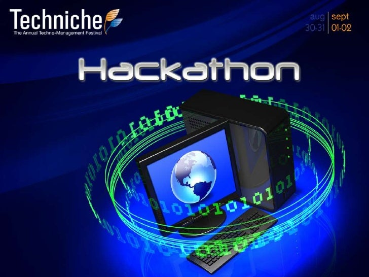 Intrduction•   The Coding Club presents the IITG Hackathon, one of its kind    to ever be held in the IITs. Hackathon (it ...
