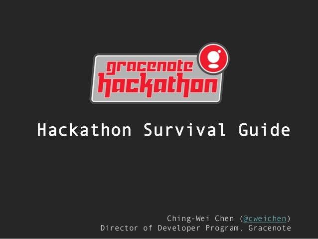 Hackathon Survival Guide