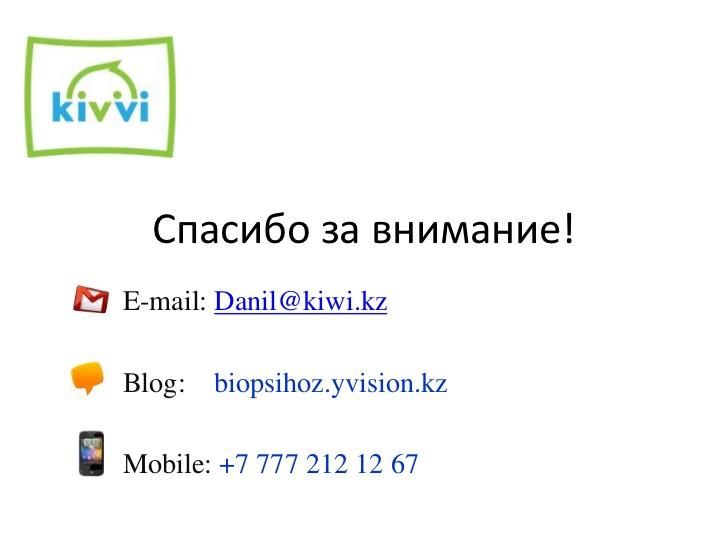 киви кз: