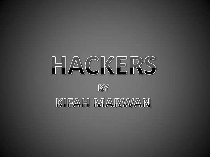 Hackers final