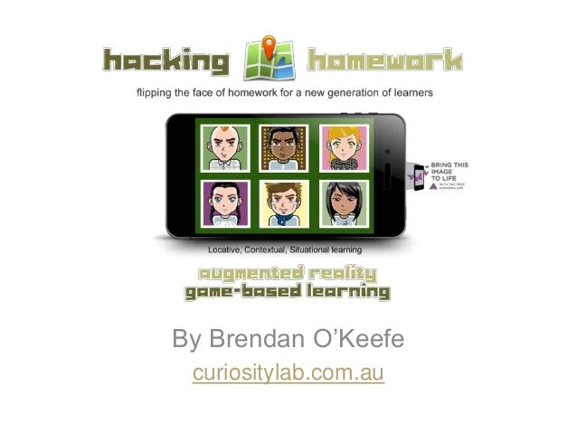 Hacking Homework - AR triggered by GPS locations, tactile objects or print