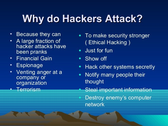 Hackers definition