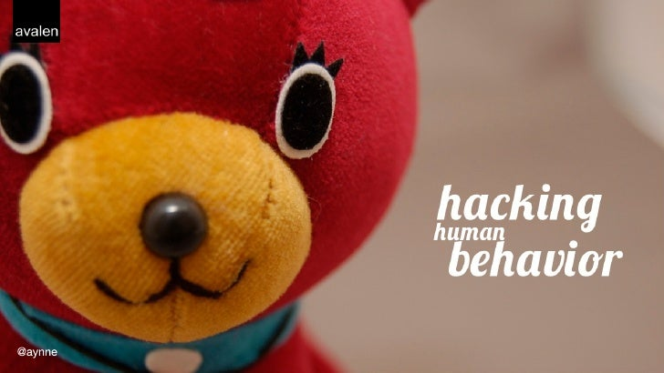 Hacking humanbehavior