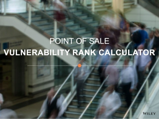 Point of Sale Vulnerability Rank Calculator