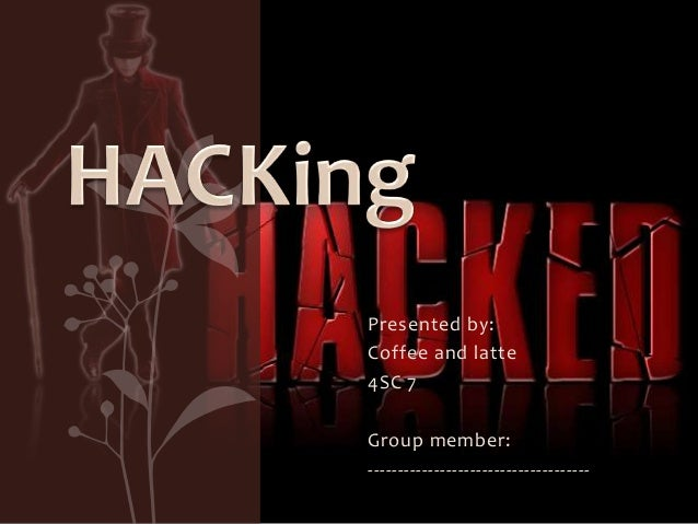 Hacking-coffee and latte