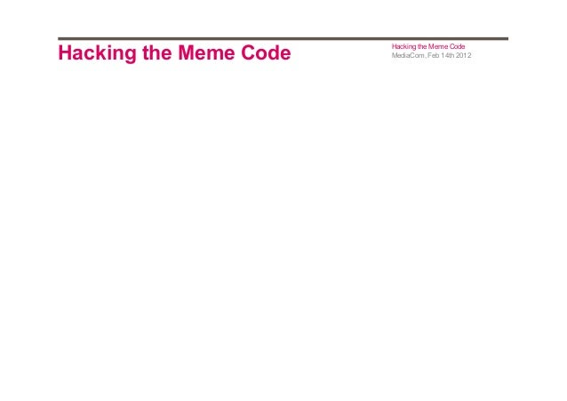 Hacking the meme_code_ext