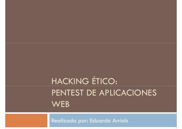 Hacking ético [Pentest]