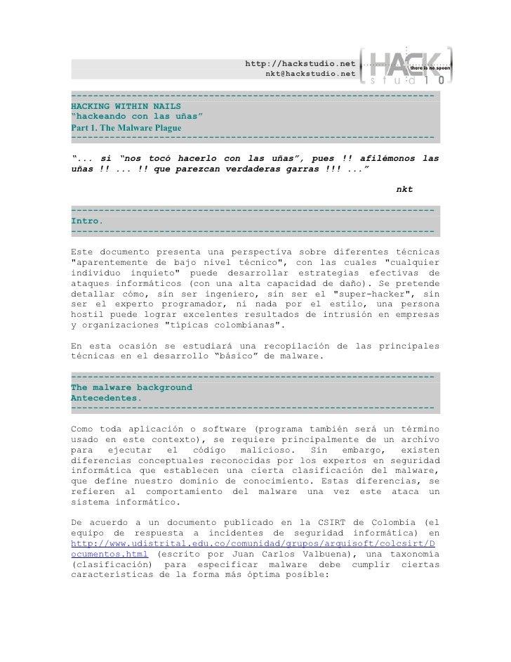 http://hackstudio.net                                    nkt@hackstudio.net  ---------------------------------------------...