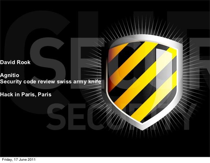 Hack in Paris - Agnitio