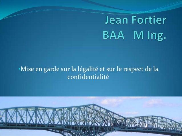 Jean Fortier Hackons la Corruption