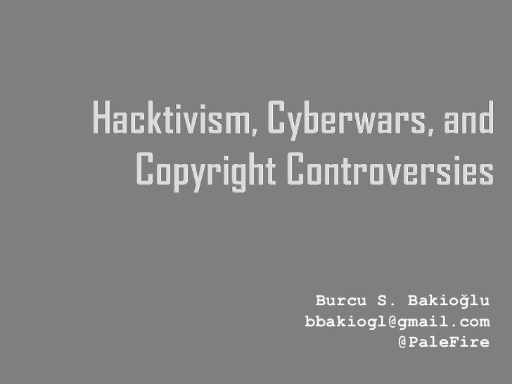 Burcu S. Bakioğlu [email_address] @PaleFire
