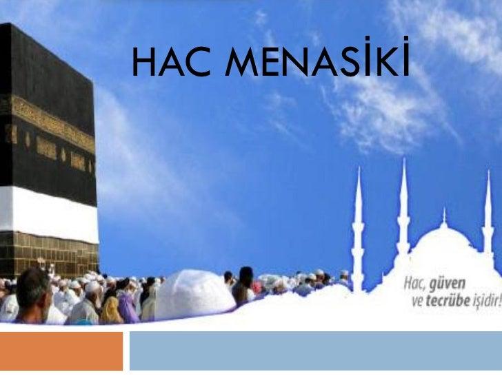 HAC MENASİKİ