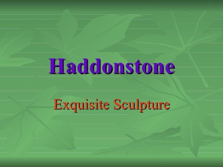 Haddonstone Exquisite Sculpture
