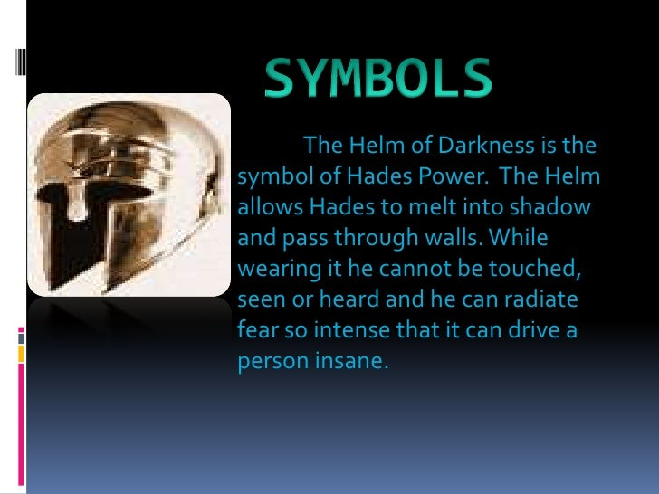 God Power Symbol The Symbol of Hades Power