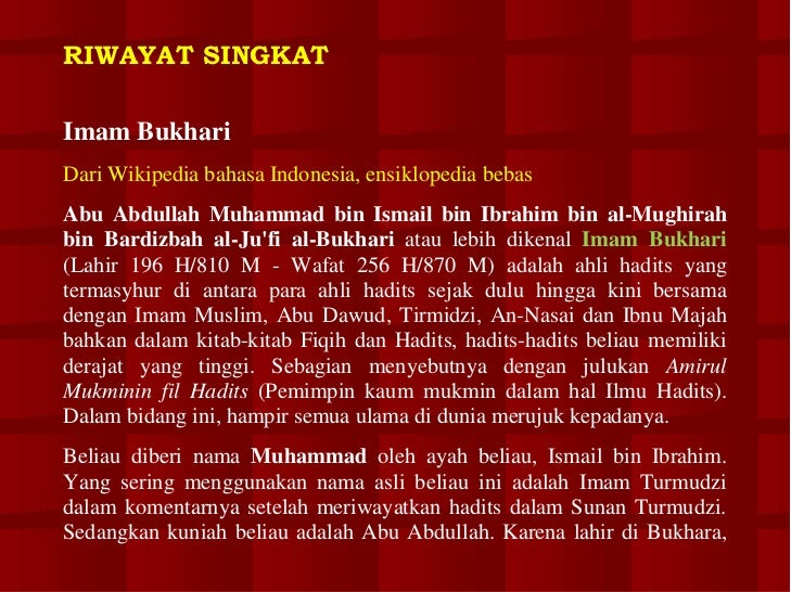 sahih bukhari indonesia pdf file