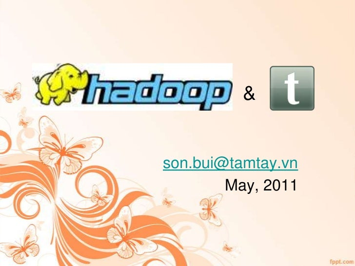 Hadoop, HBase and Zookeeper at Tamtay