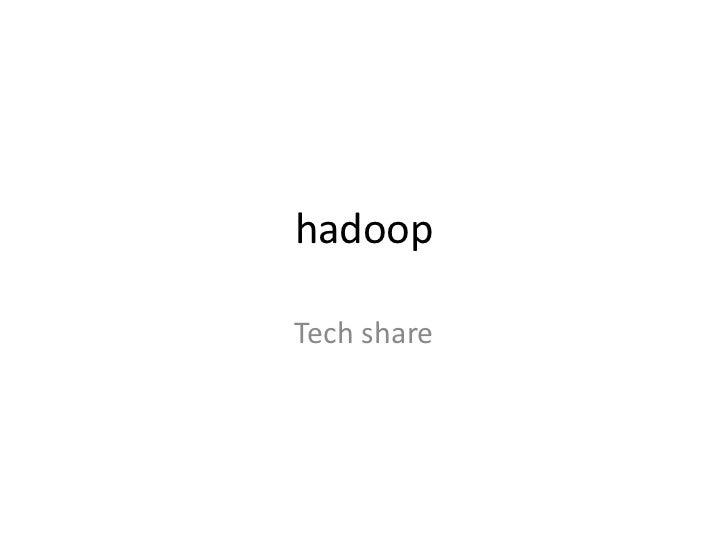 Hadoop 20111117