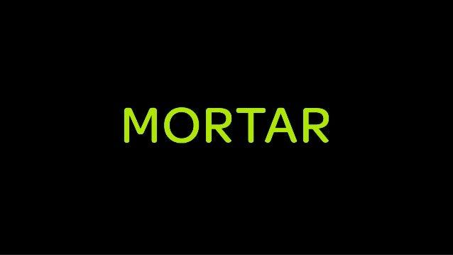 Mortar: Hadoop-as-a-Service + Open Source Framework | AWS re: Invent public …
