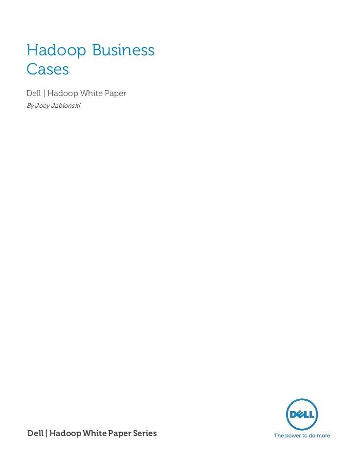 Hadoop Business Cases