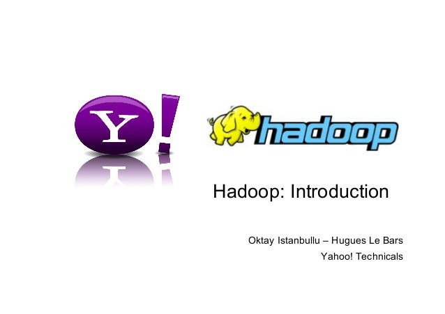 Hadoop Introduction in Paris
