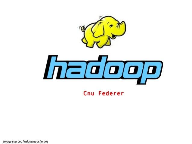 Cnu FedererImage source : hadoop.apache.org