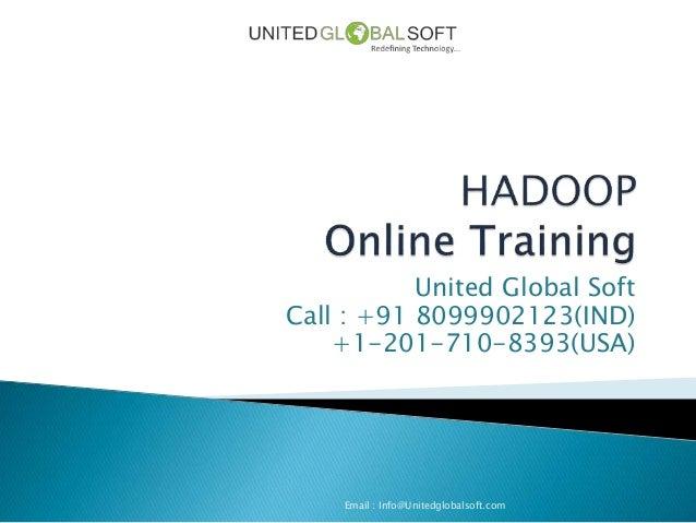 Hadoop Online Training in India