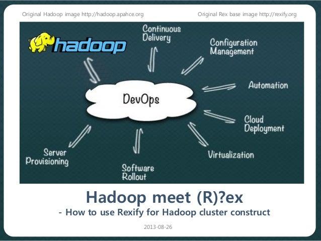 Hadoop meet Rex(How to construct hadoop cluster with rex)