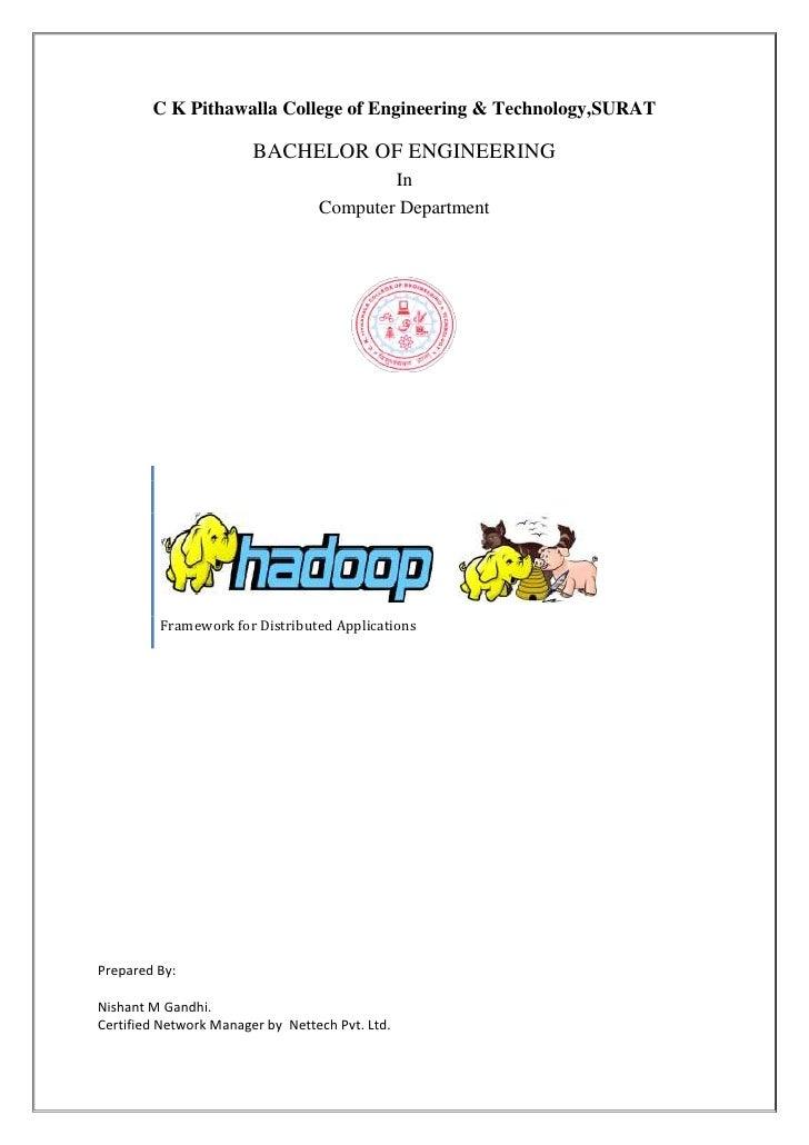Hadoop Report