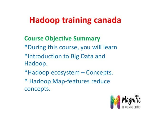 Hadoop training canada