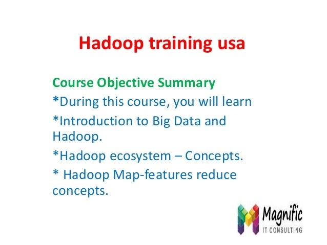 Hadoop training in usa