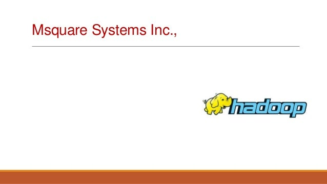 Msquare Systems Inc.,