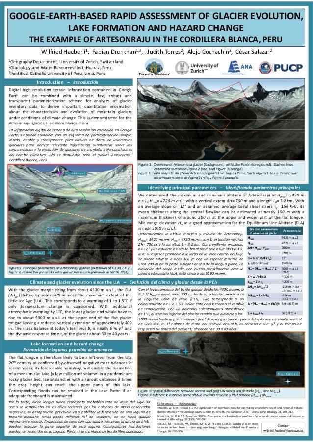 GOOGLE-EARTH-BASED RAPID ASSESSMENT OF GLACIER EVOLUTION, LAKE FORMATION AND HAZARD CHANGE