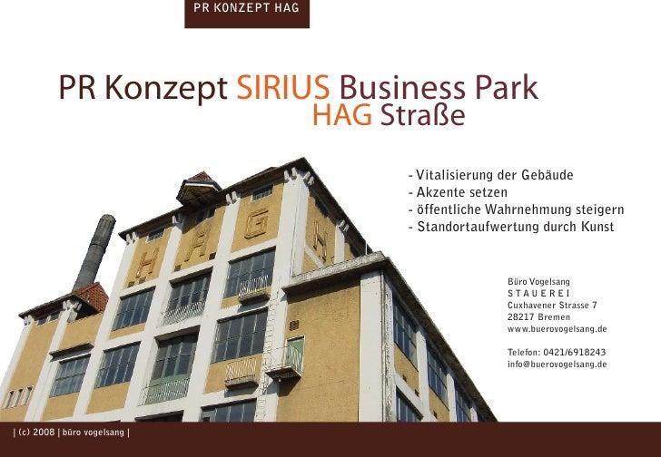 PR KONZEPT HAG                 PR Konzept SIRIUS Business Park                                                            ...