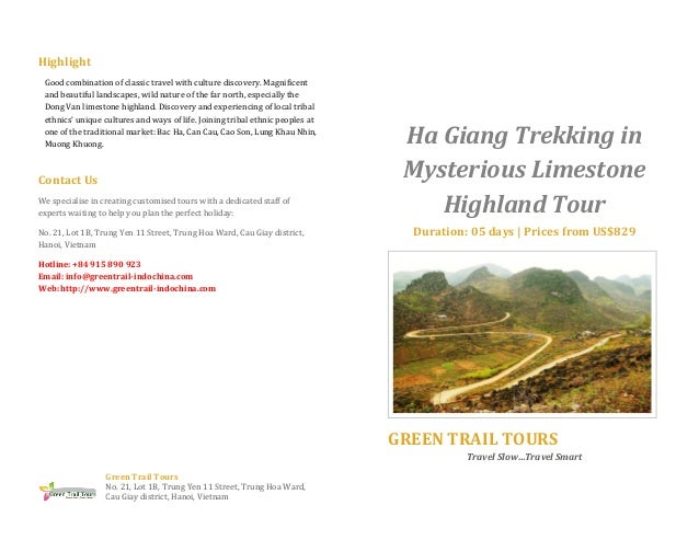 Ha giang trekking in mysterious limestone highland tour