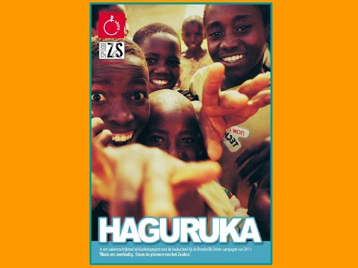Haguruka voorstellen aan medeleerkrachten