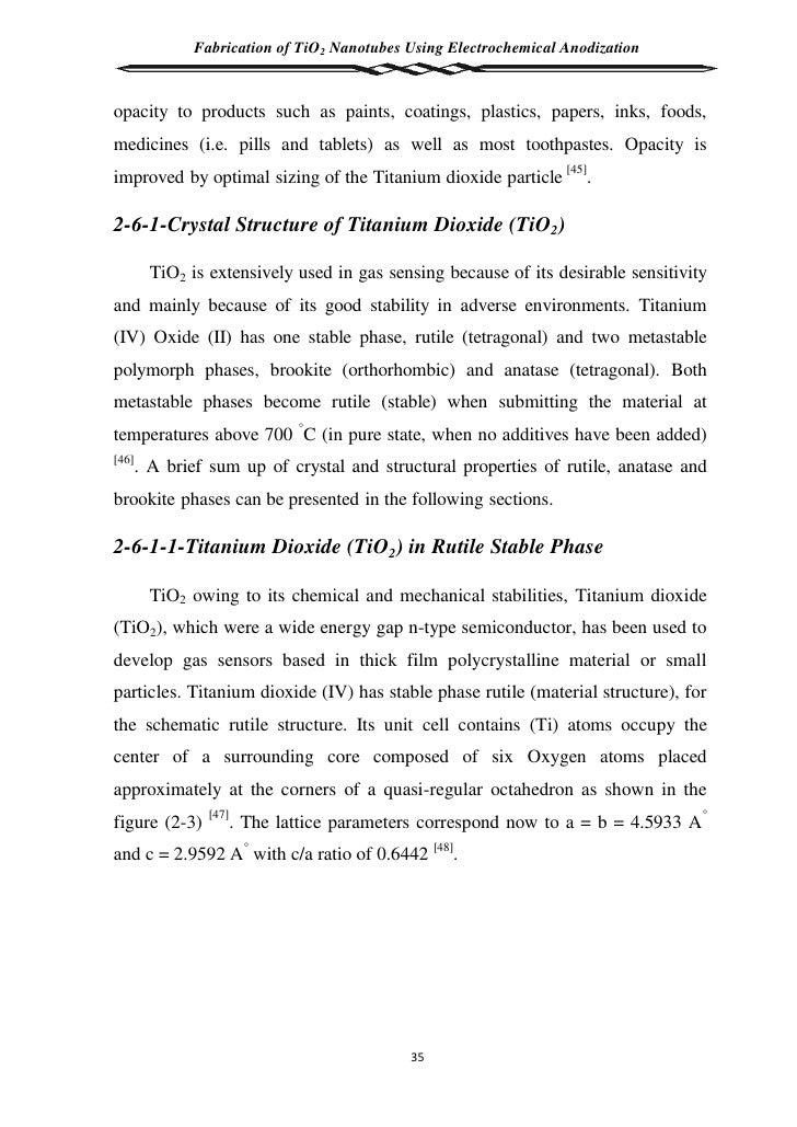 tio2 thin film thesis
