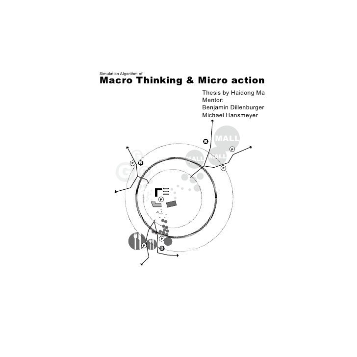 What is macro and micro of thesis?