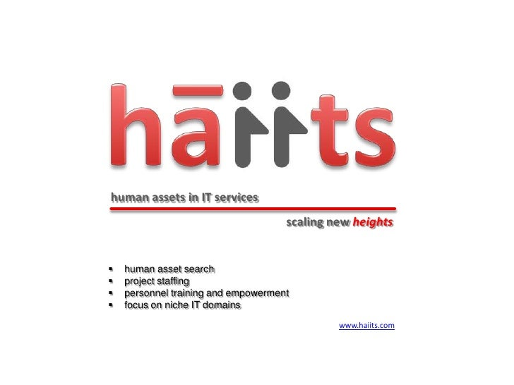 human assets in IT services                                     scaling new heights   human asset search   project staff...