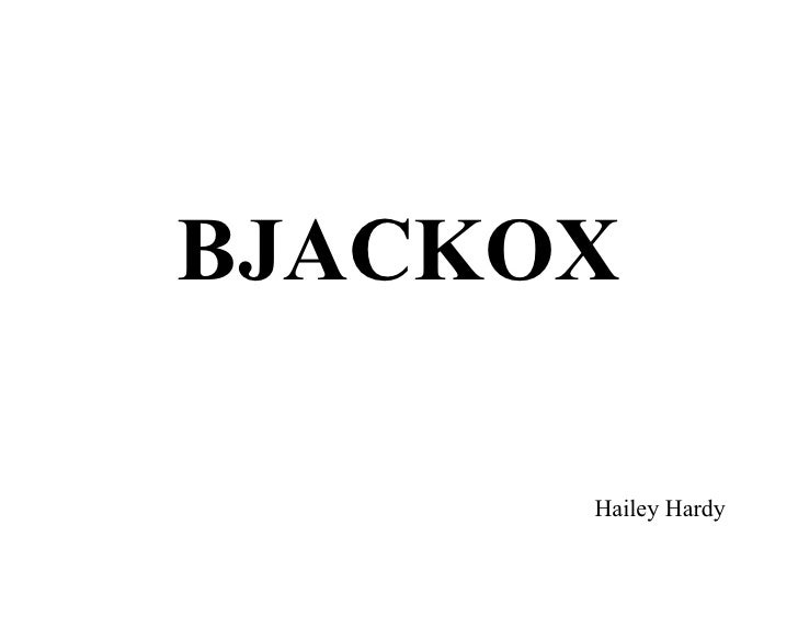 BJACKOX        Hailey Hardy