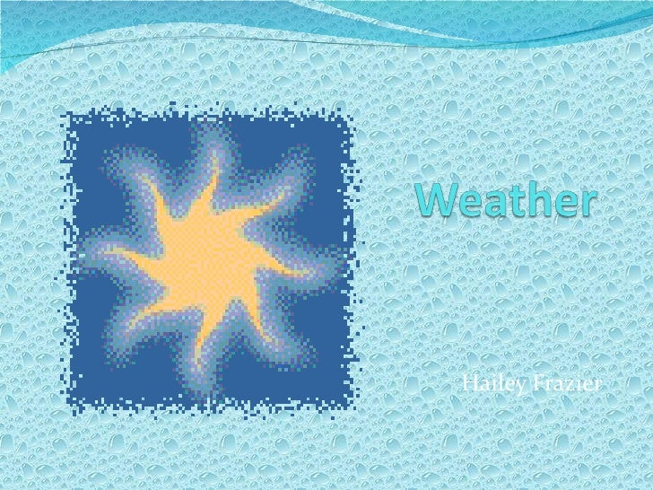 Weather - HF