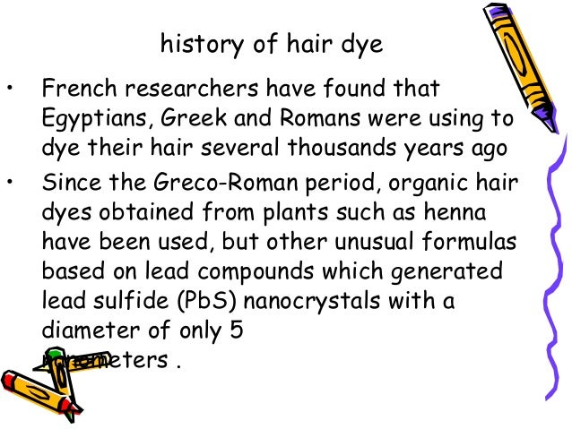 Essay about hair coloring