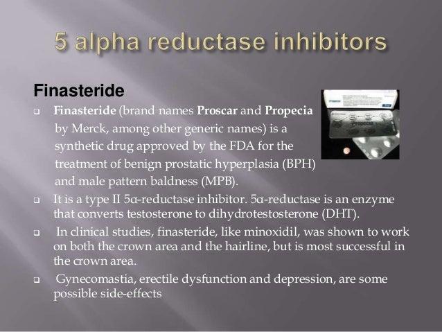 Propecia and gynecomastia