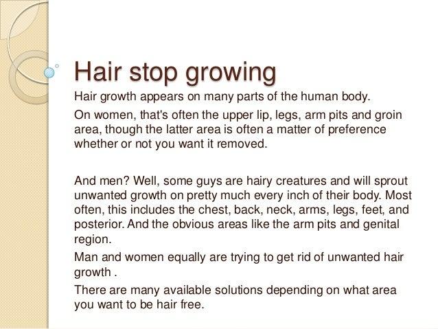 Hair Stop Growing